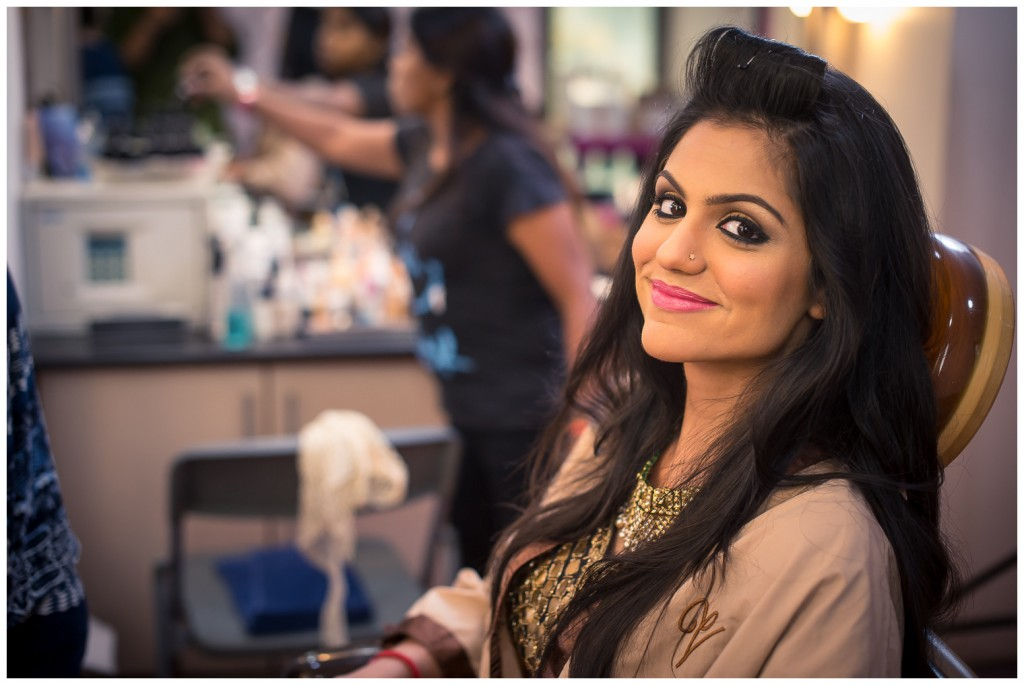 An experienced stylist / make-up-artiste can really be a bride's best friend!