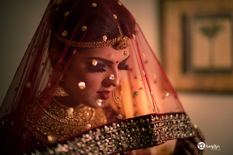 Bridal portrait Indian wedding photographer Jaipur destination wedding