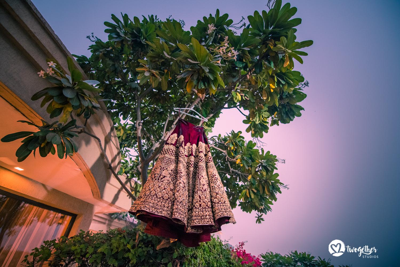 Wedding photography lehenga shot India
