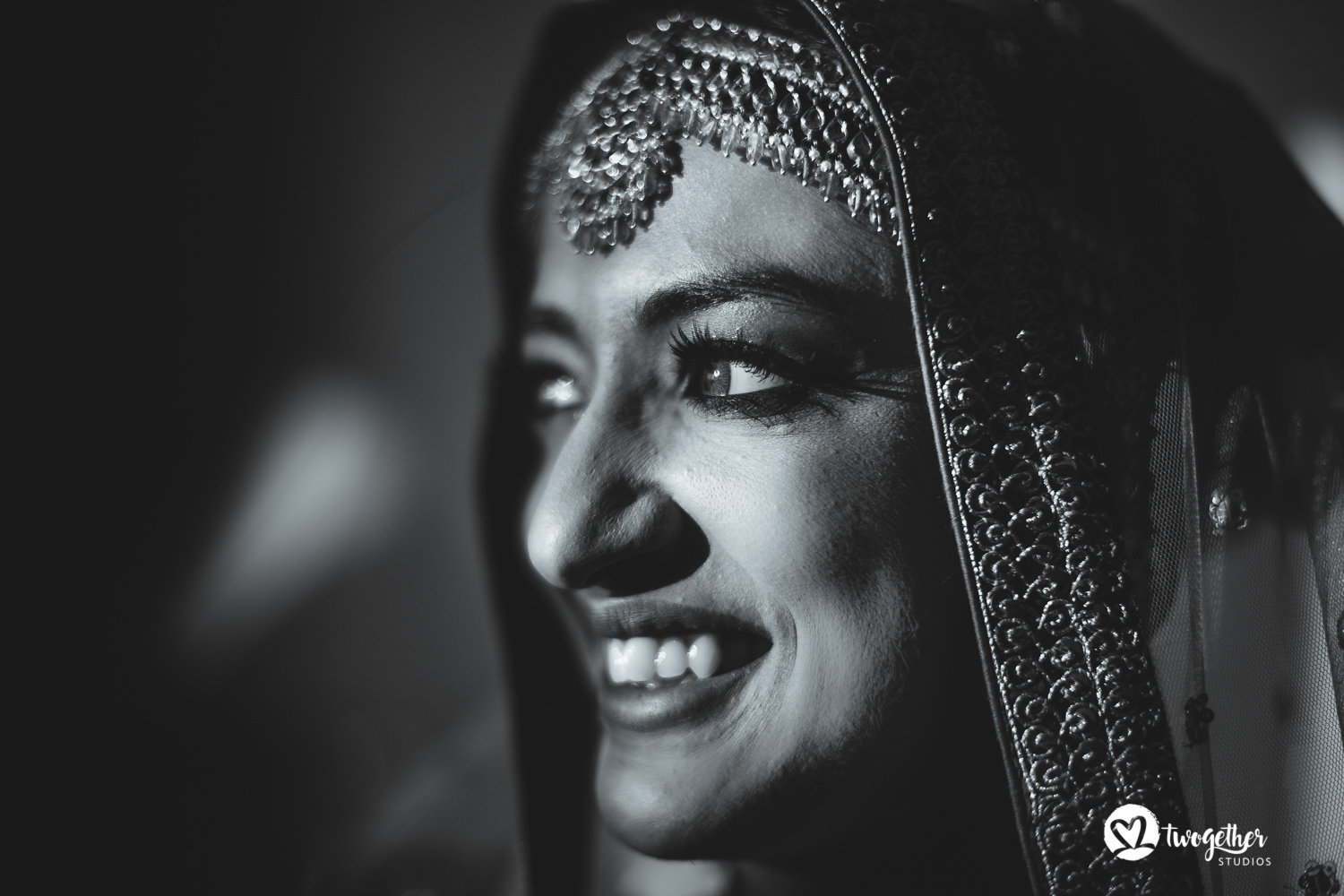 Arjun Kartha Wedding photography bridal portrait Mussoorie India