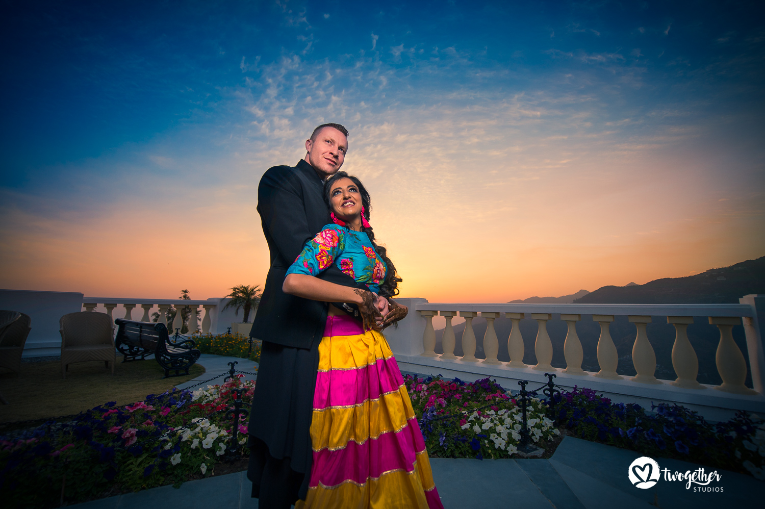 Wedding photography pre-wedding couple shoot Mussoorie
