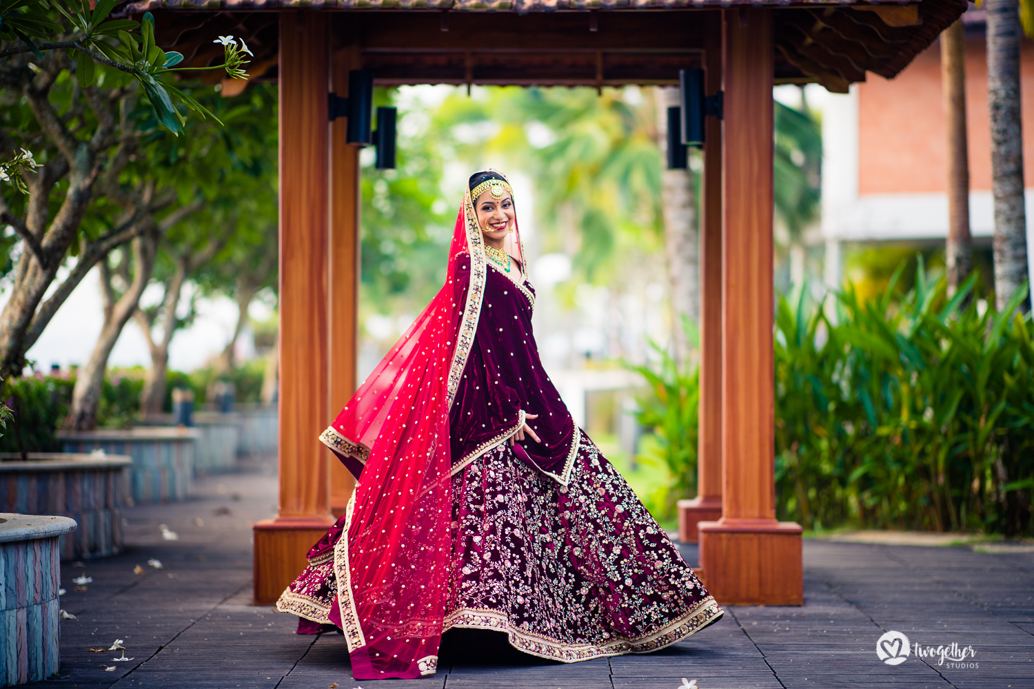 Indian wedding photography Sabyasachi bride portrait