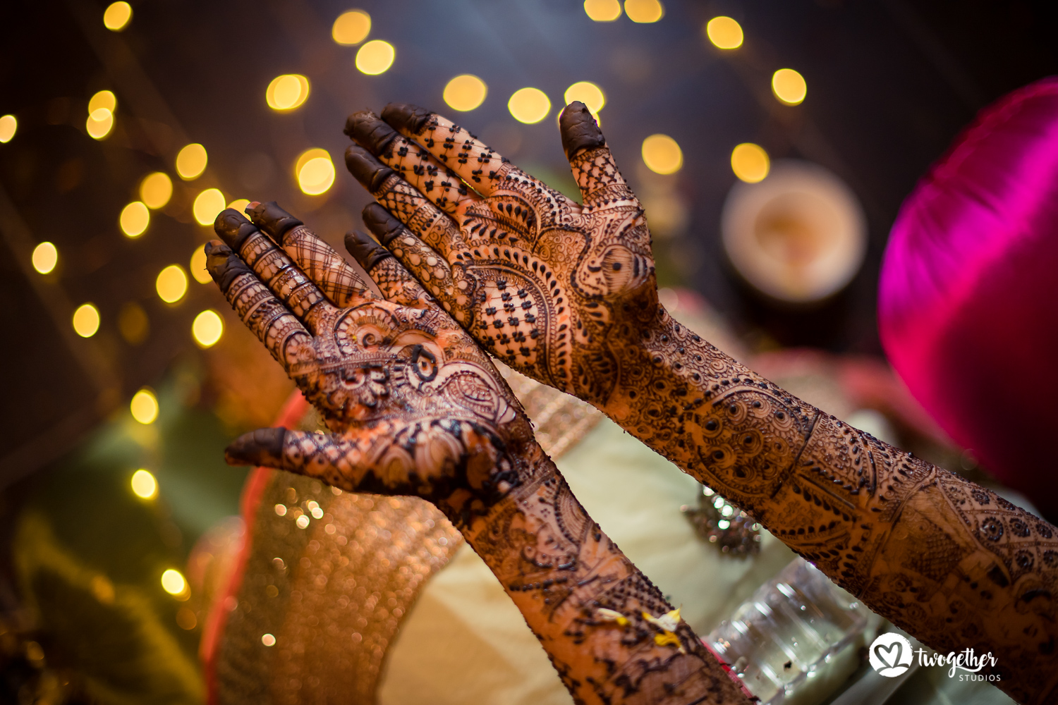 Bridal mehendi wedding photography Twogether Studios