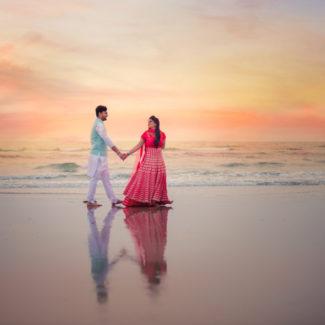 pre wedding couple shoot Goa Twogether Studios wedding photography