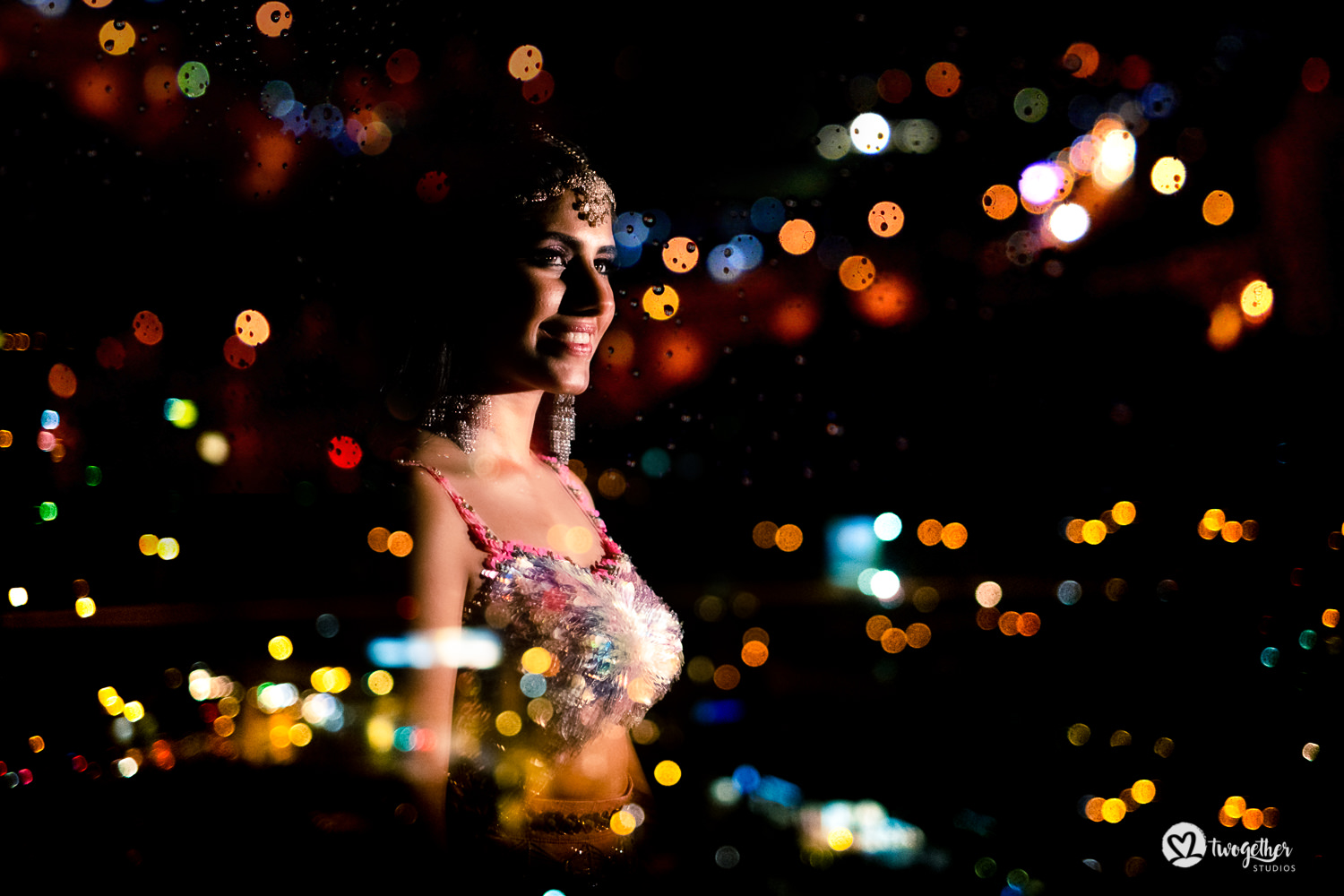 Indian bridal photo in papa Dont Preach by Shubhika