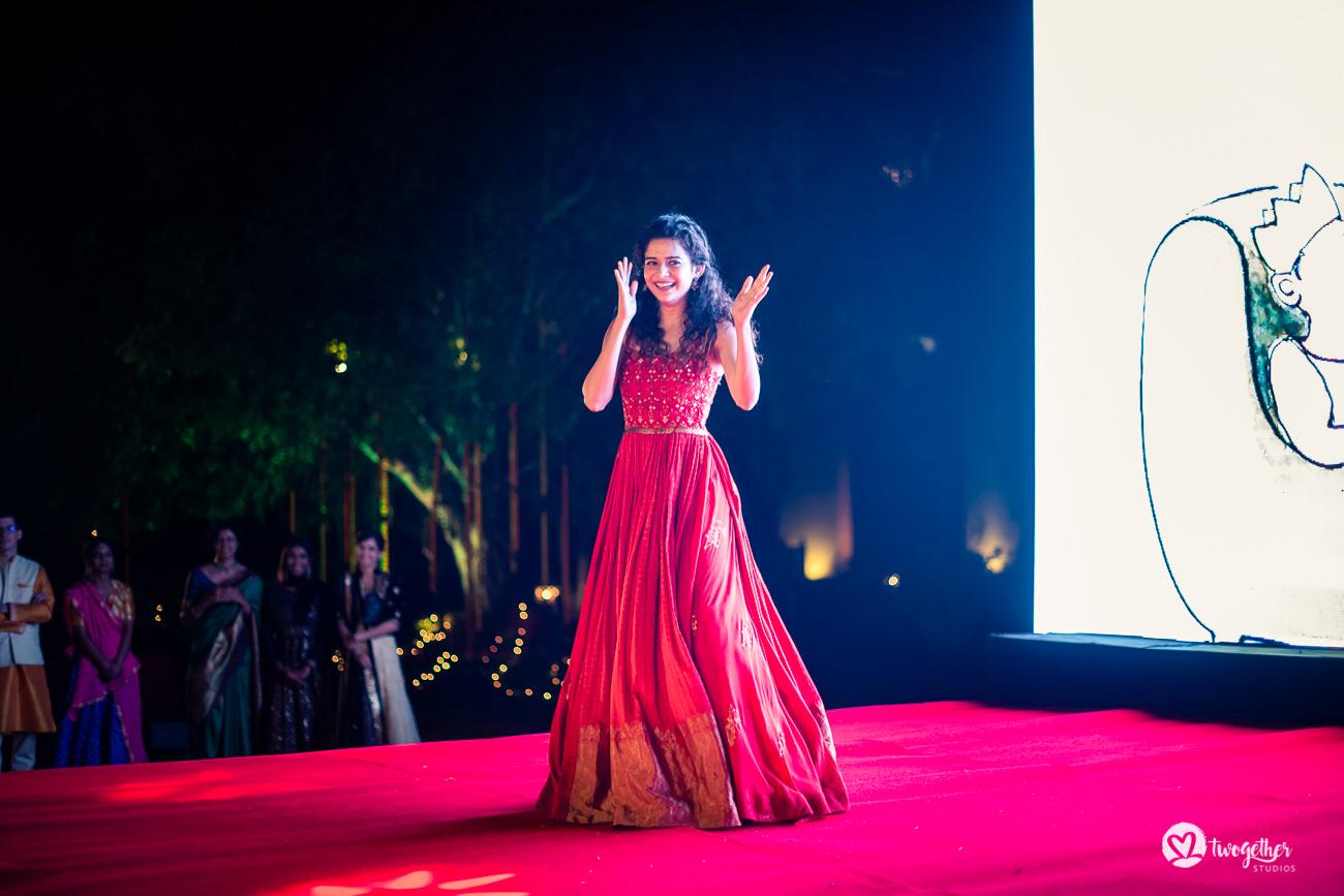 Uma história de casamento em Delhi    Varsha + Arjun 36