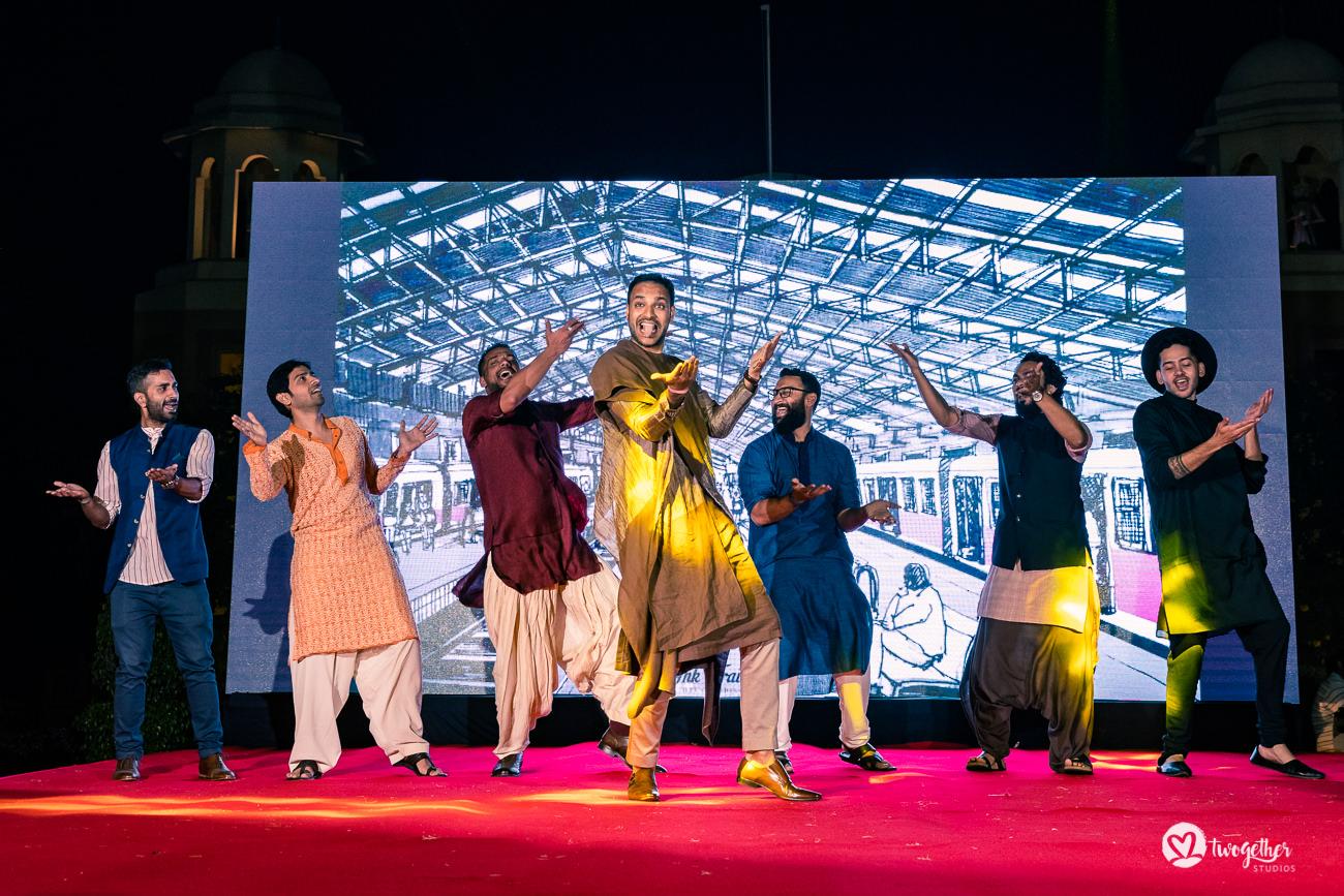 Uma história de casamento em Delhi    Varsha + Arjun 38