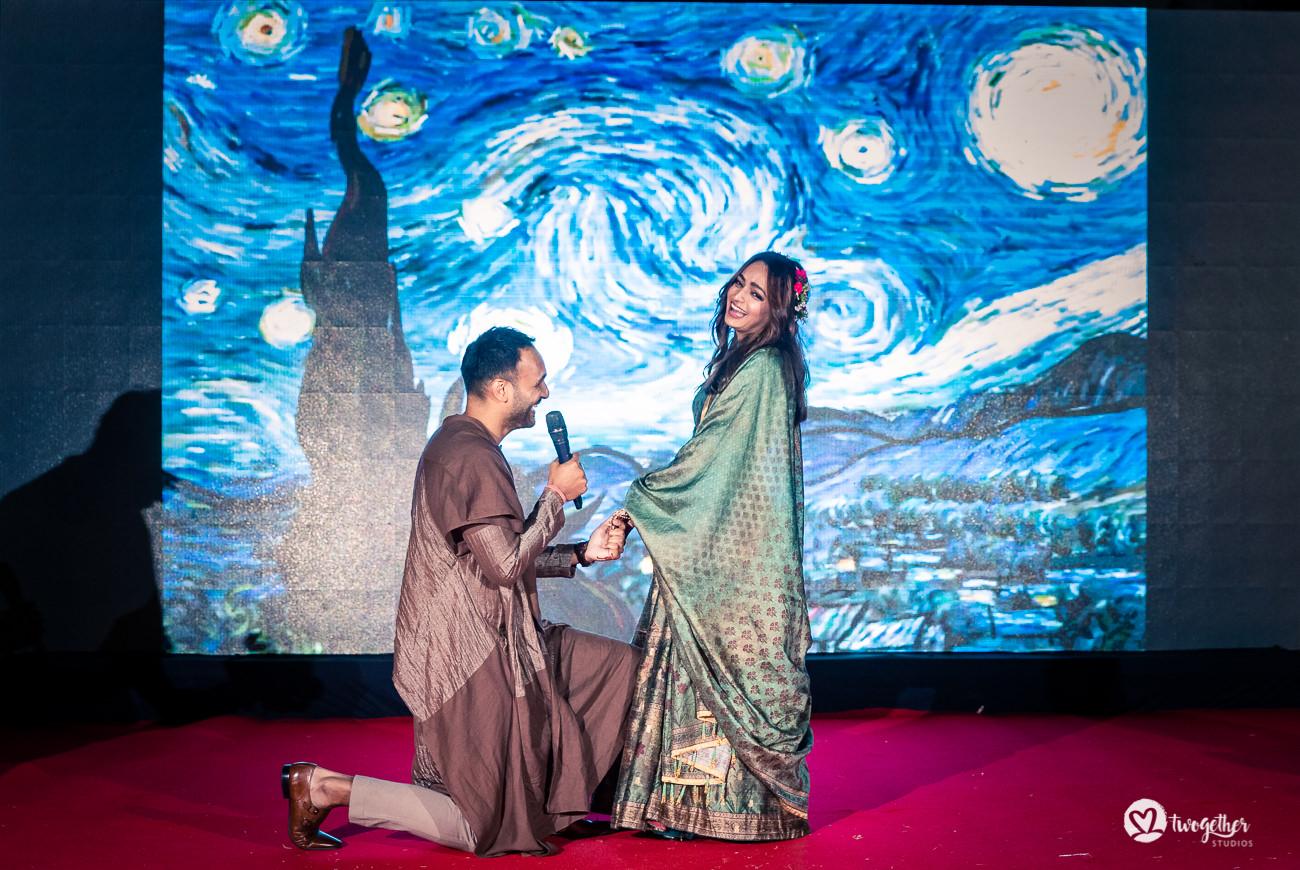 Uma história de casamento em Delhi    Varsha + Arjun 37