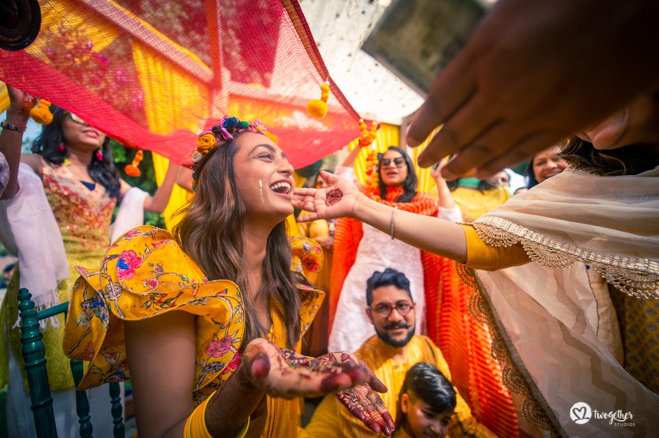 Uma história de casamento em Delhi    Varsha + Arjun 43