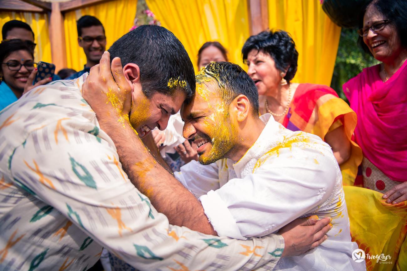 Uma história de casamento em Delhi    Varsha + Arjun 42