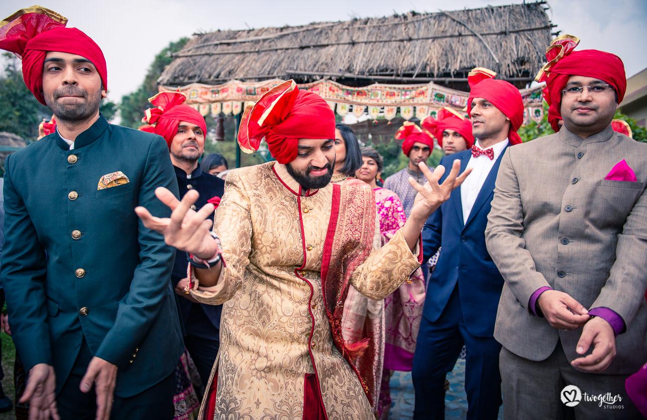 Uma história de casamento em Delhi    Varsha + Arjun 46
