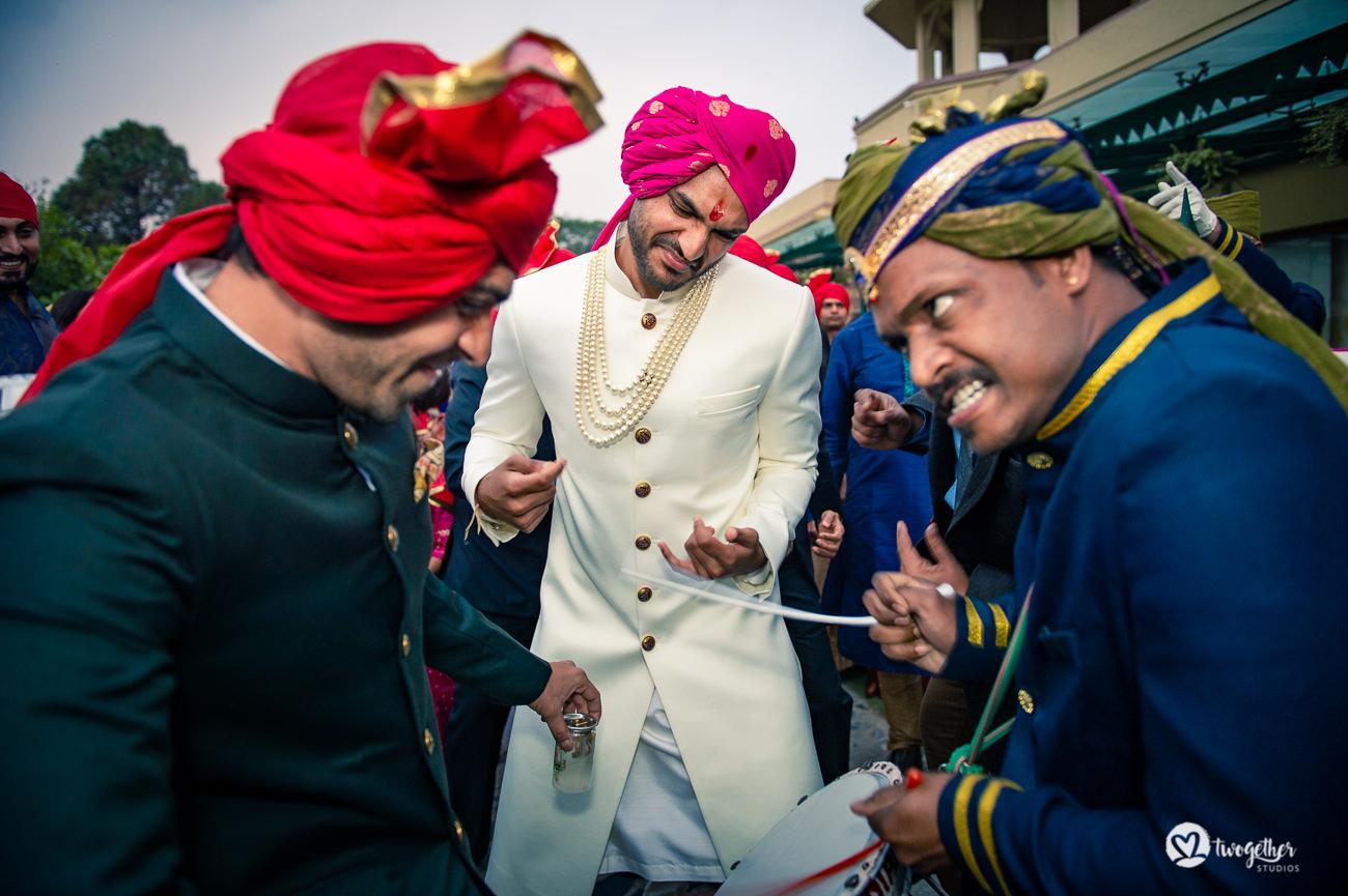 Uma história de casamento em Delhi    Varsha + Arjun 45