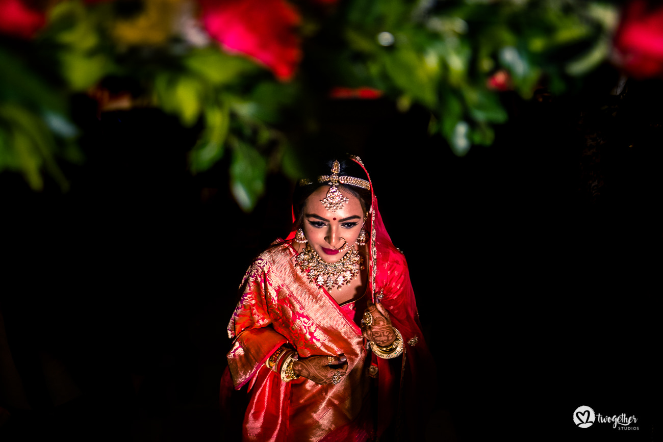 Indian bridal Delhi in a Delhi wedding