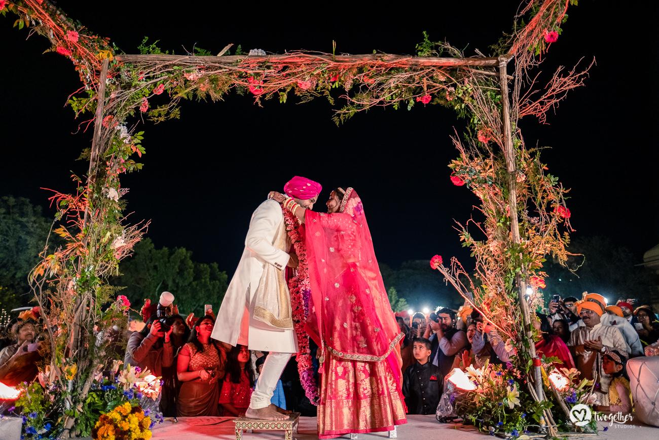 Uma história de casamento em Delhi    Varsha + Arjun 47