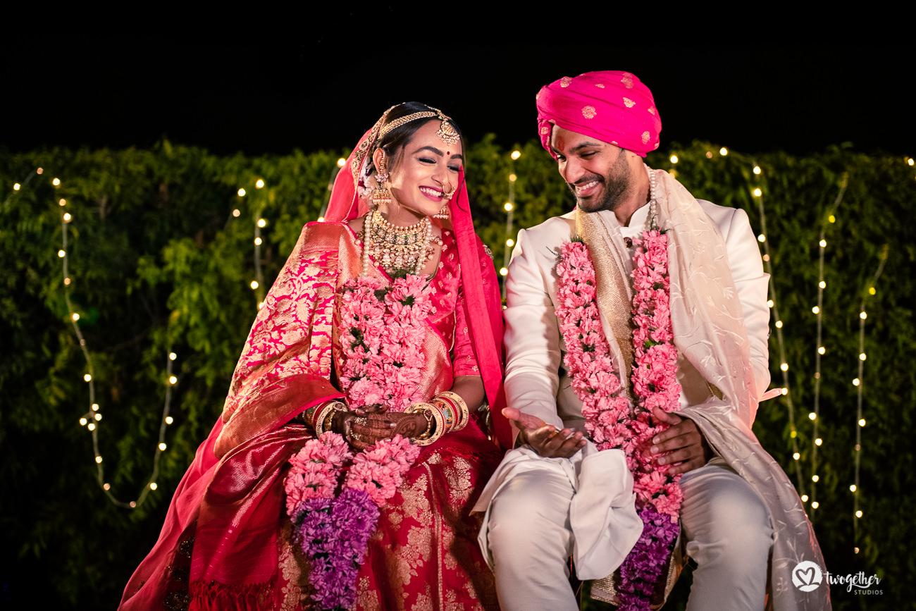 Uma história de casamento em Delhi    Varsha + Arjun 50