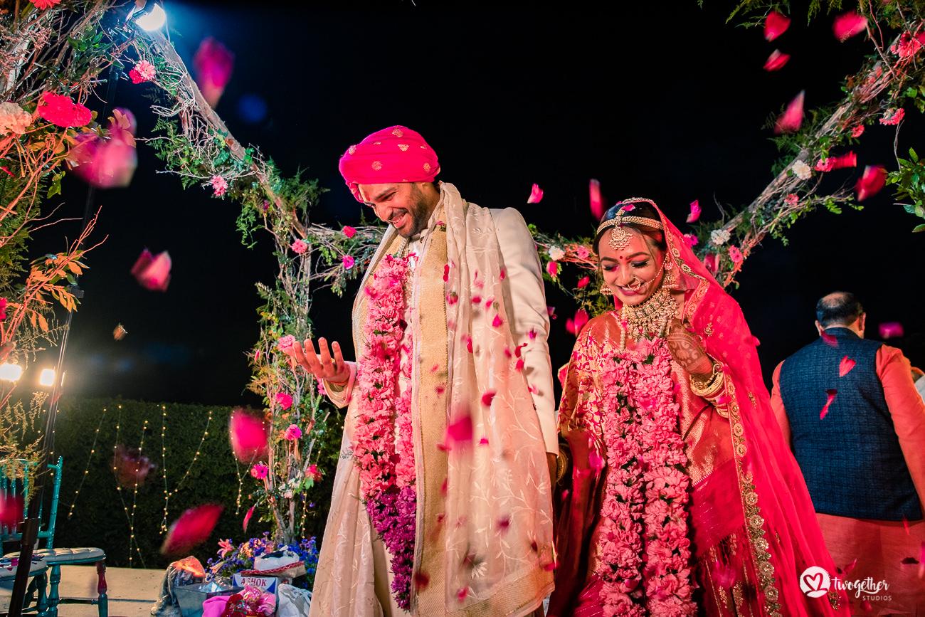 Uma história de casamento em Delhi    Varsha + Arjun 49