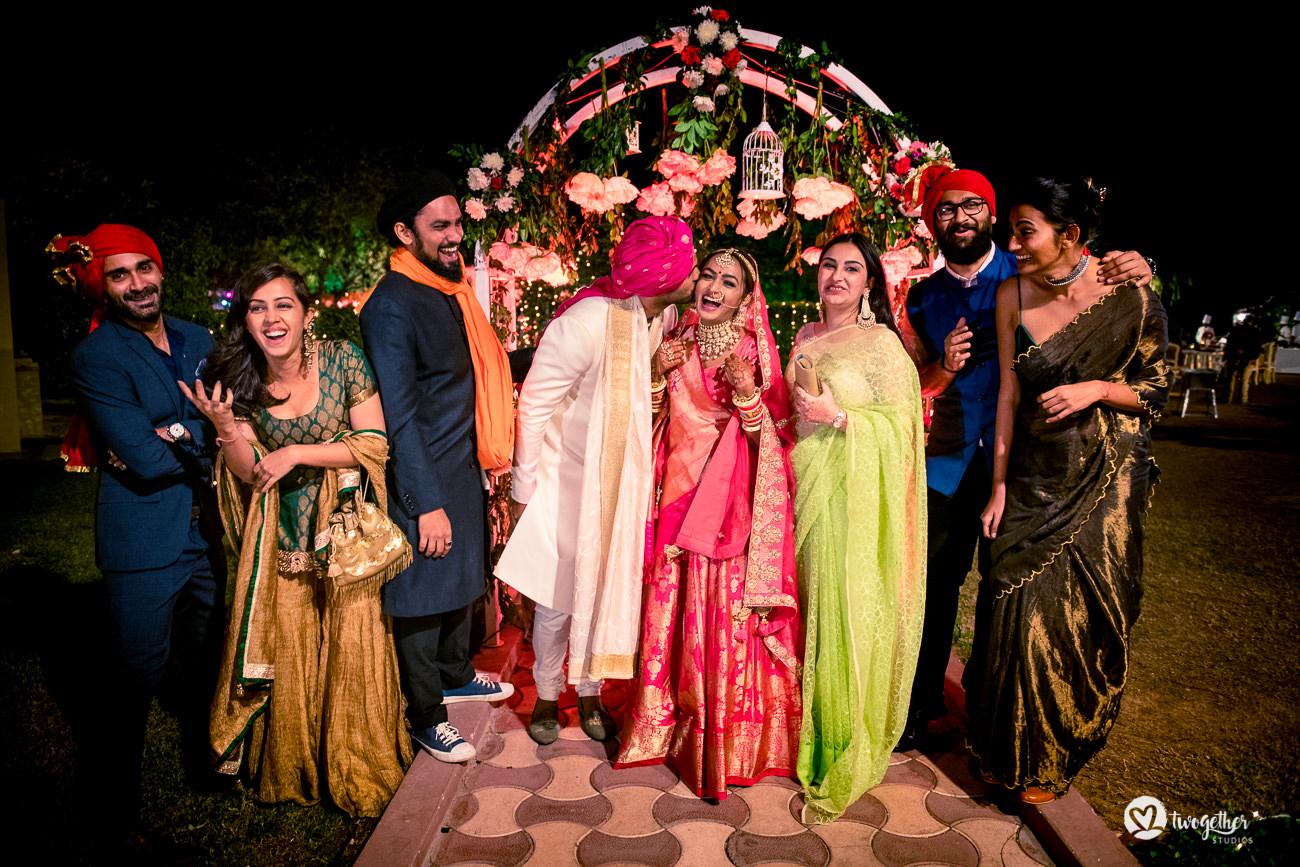 Uma história de casamento em Delhi    Varsha + Arjun 51