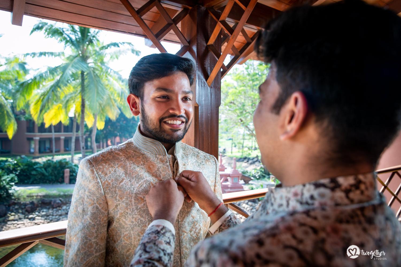 Um casamento em Goa | Nikita + Divyanu 16