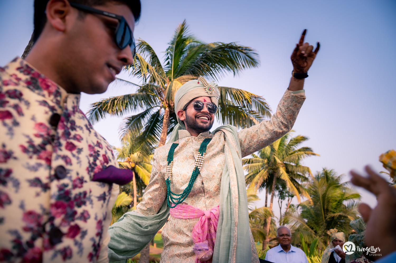 Um casamento em Goa | Nikita + Divyanu 18
