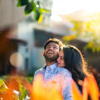 Pré-casamento casal filmar em Goa