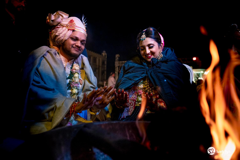 Uma história de fotos de casamento em Jaipur | Shreya + Dakshit 20