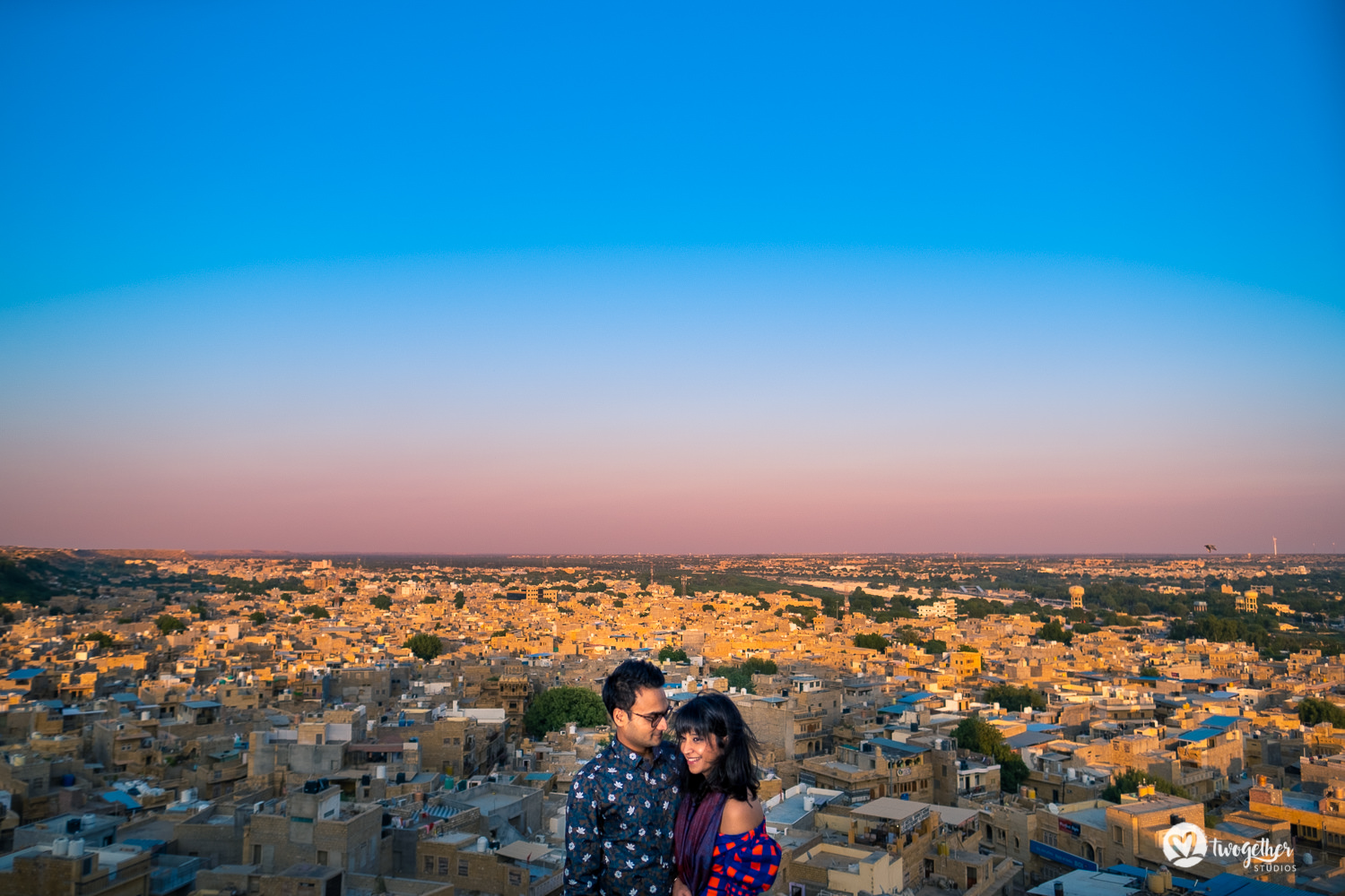 Pre-wedding couple shoot in Jaisalmer