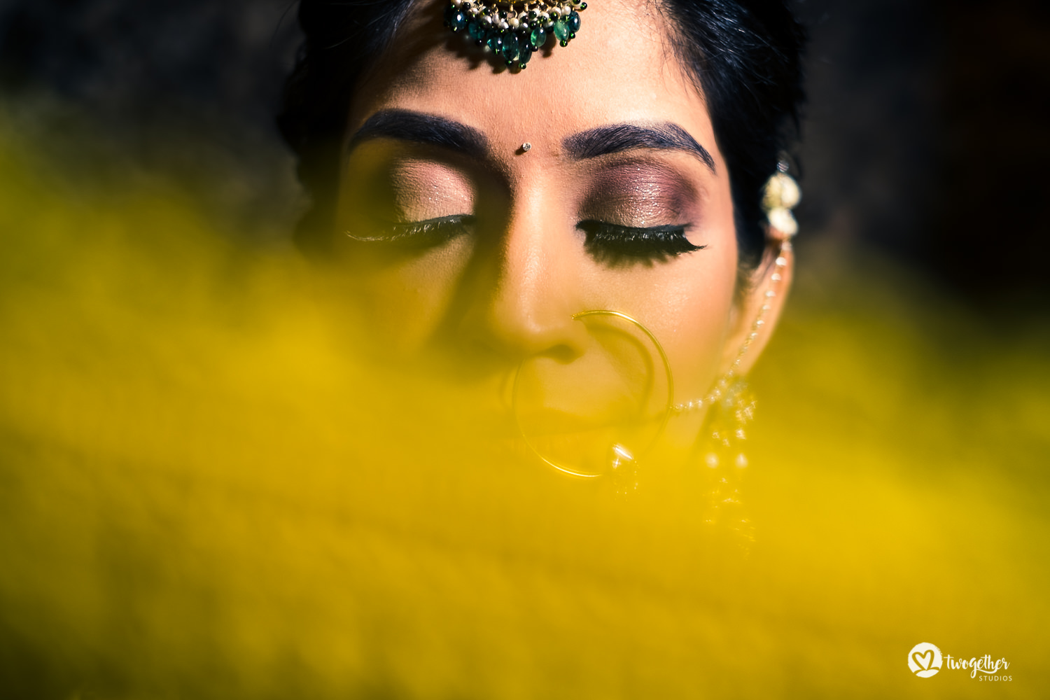 Sabyasachi Indian bride portrait