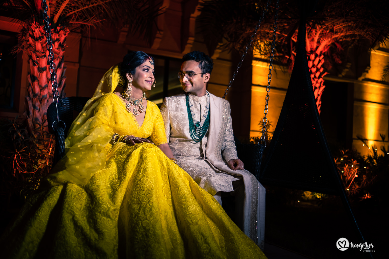 Um casamento de destino Jaisalmer |  Srishti + Rishabh 88