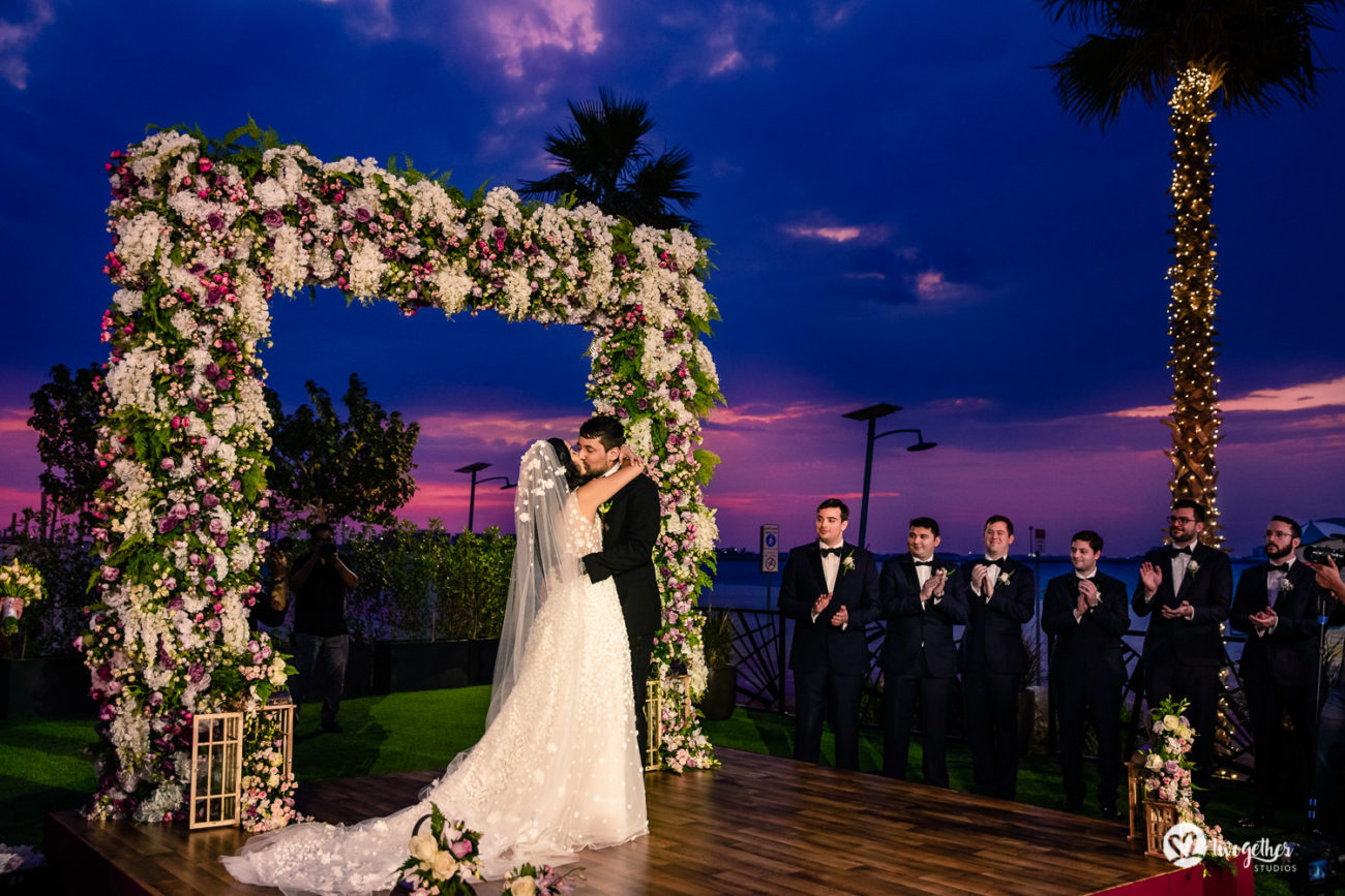 Nikita and Patrick get married at Dubai destination wedding.