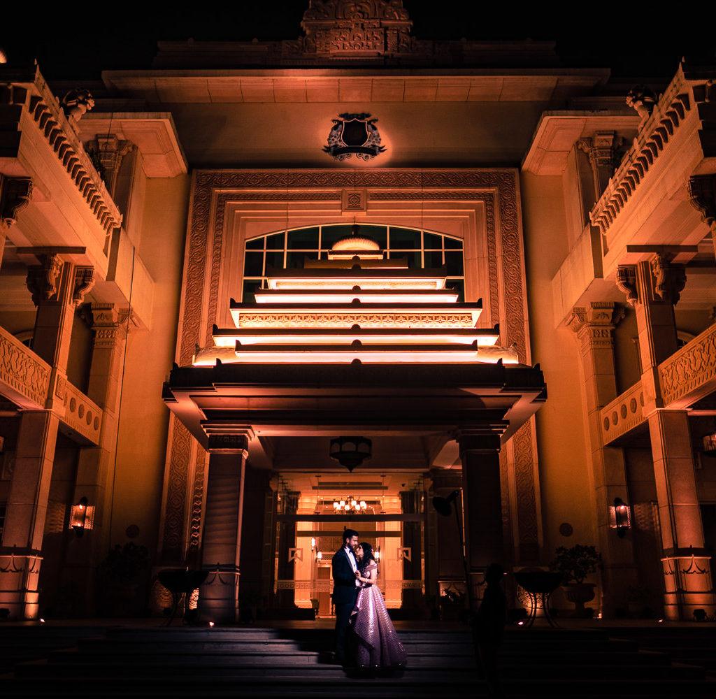 An ITC Grand                                                                  Bharat Wedding Story