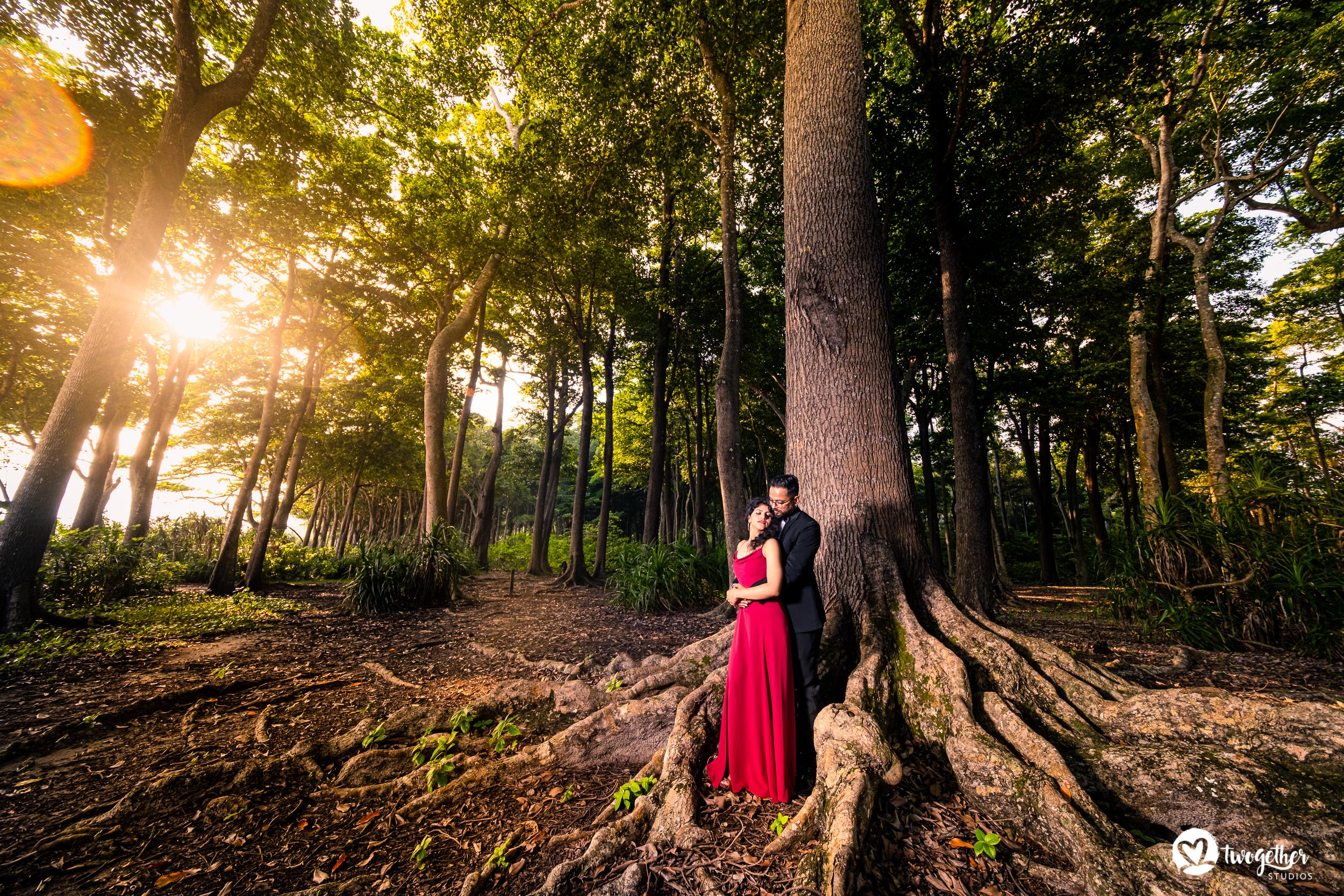 Andaman islands prewedding couple shoot.